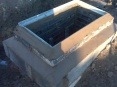 Manhole built ready for lid