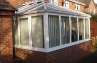 Conservatory built in Sheffield, 2002